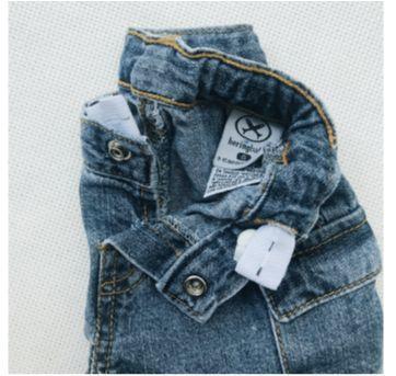 Bermuda jeans menino - 9 a 12 meses - Hering Baby e Hering