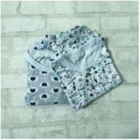 Pijama bebê algodão - 9 a 12 meses - Mafessoni