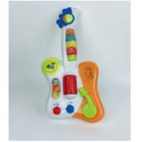 Guitarra do Bebê - Guitarrinha com Luzes e Sons -  - Yes Toys
