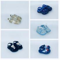 Kit 5 calçados de bebê - 01 - Romirus e Keto Baby