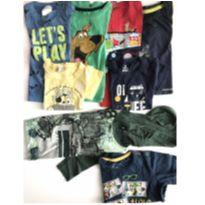 Lote de roupas 1 a 2 anos menino - 18 a 24 meses - Carter`s e Hering Baby