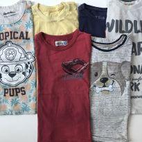 4 calças 6 camisetas 2 a 3 anos - 2 anos - Hering Kids