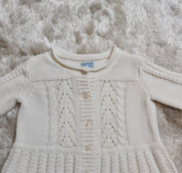 BLUSA TRICO OFF WHITE BABY GAP - 1 ano - Baby Gap