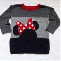Blusão/básica Minnie Disney Baby GAP - 12 a 18 meses - Baby Gap