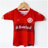 camiseta de time de futebol infantil - 6 meses - Sem marca e sem etiqueta