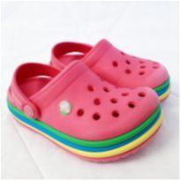 Crocs infantil  Crocband Rainbow 6c/7c