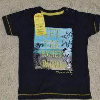 Camisa Tigor original nova - 9 a 12 meses - Tigor Baby