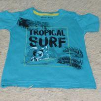 Camiseta Tigor tropical - 9 a 12 meses - Tigor Baby
