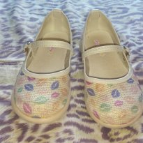 Sapato Boneca Beijinho - 24 - manu baby