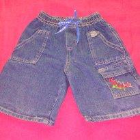 Bermuda Jeans - 9 a 12 meses - Korium Infantil