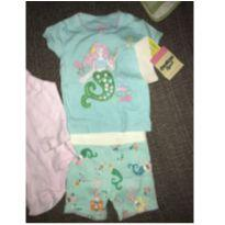 Pijamas Importados Sereias OskKosh (Carter`s) 6 meses - 6 meses - OshKosh