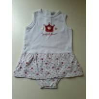 Body vestido - 9 a 12 meses - VICKY LIPE