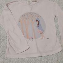 Blusa manga longa Zara - 18 a 24 meses - Zara Baby