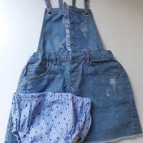 Salopete Jeans Zara - 3 anos - Zara Baby