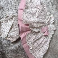 Vestidinho de festa Floral 6-12M - 9 a 12 meses - Kopela