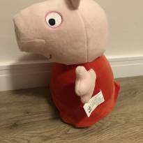 Peppa Pig pelúcia - Sem faixa etaria - Peppa Pig