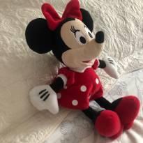 Minnie vermelha de pelúcia original