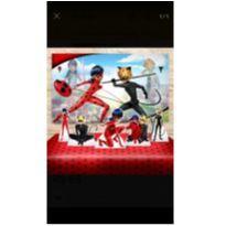 KIT DECORAÇÃO DE FESTA INFANTIL - Miraculous: As Aventuras de Ladybug - Sem faixa etaria - Sem marca