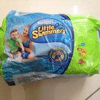 Fralda Huggies para banho de mar ou piscina - Little Swimmers - Sem faixa etaria - Huggies