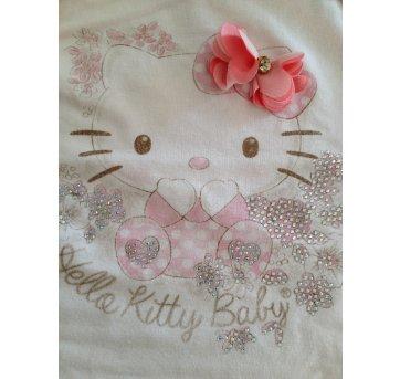 Camiseta - Hello Kit - Tamanho 3 - 6 meses OU M - 3 a 6 meses - Hello  Kitty