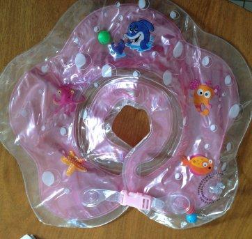 Bóia de Pescoço Inflável Para Bebês - Sem faixa etaria - Não informada