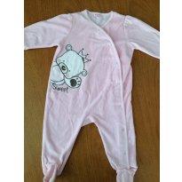 Macacão - Baby Way - Tamanho GG ou 9 à 12 meses - 9 a 12 meses - Baby Way