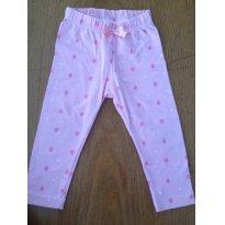 Calça legging - Baby Club - 6 à 9 meses - 6 a 9 meses - Baby Club