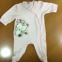 Macacão de inverno - Baby Jay - Tamanho GG ou 9 à12 meses - 9 a 12 meses - Baby Way