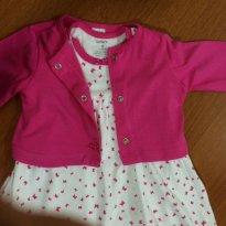 Vestido com casaquinho - Carter´s - 9 meses - 9 meses - Carter`s