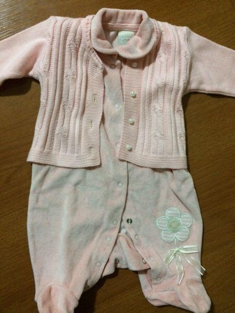 Macacão com pé - Tamanho RN - Milly Baby Recém Nascido no Ficou ... ec5c9ee7ce