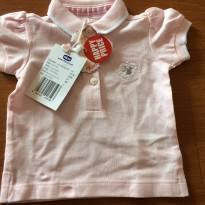 Camisa pólo - Chicco - Tamanho 3 meses - NOVO - 3 meses - Chicco