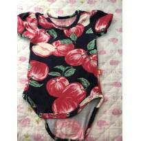 Body camisa  -  Puc  - Tamanho P - 0 a 3 meses - PUC