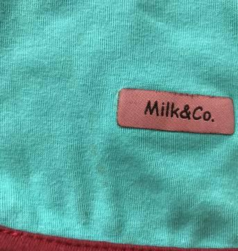 Babador Dupla Face - Milk & Co - Sem faixa etaria - Milk & Co