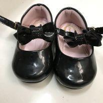Sapato  preto - Tamanho 18 - Pampili - 18 - Pampili