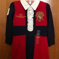 Vestido de manga longa - Novo -  Tamanho 3 - Ralph Lauren - 3 anos - Ralph Lauren