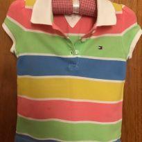 Camiseta - Tamanho 2 - Tommy Hilfiger - 2 anos - Tommy Hilfiger