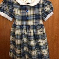 Vestido xadrez - Tamanho 18 meses - Glen Appin of Scotland - 18 meses - Não informada