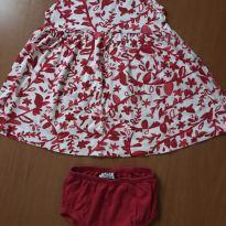 Vestido - Hering kids - tamanho 1 - 1 ano - Hering Kids