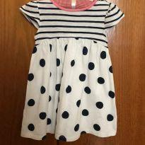 Vestido - Next Baby - 12 à18 meses - 12 a 18 meses - Next baby