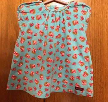 Vestido - Milk @ Co - 3 a 6 meses - Milk&Co