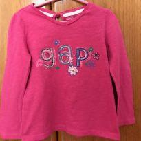 Camiseta de manga longa - 3 anos - Baby Gap - 3 anos - Baby Gap