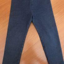 Calça legging imitando jeans - Tamanho 3 anos - Baby Gap - 3 anos - Baby Gap