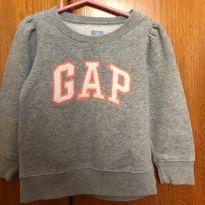 Blusa moleton -  Tam. 3 - Baby Gap - 3 anos - Baby Gap