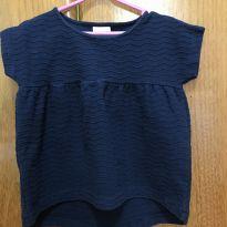 Camiseta de manga curta - Zara Girls - Tamanho 4 - 4 anos - Zara Girls