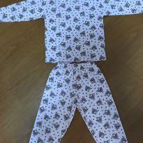 Pijama de manga comprida - Tamanho 2 - 2 anos - Não informada