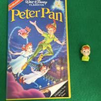 Fita VHs + Personagem - Peter Pan -  - Disney