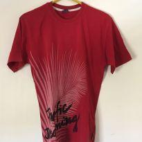 Camiseta Infantil 10 anos - Vermelha - 10 anos - PUC