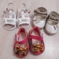 Lotinho com 2 sapatos + 1 sandália N.4 - 16 - Pimpolho e Kut baby