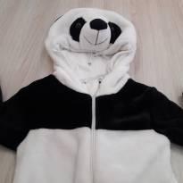 Macacão Panda Quentinho - 6 a 9 meses - Importado