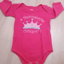 Body manga longa M - 3 a 6 meses - Doctor Baby